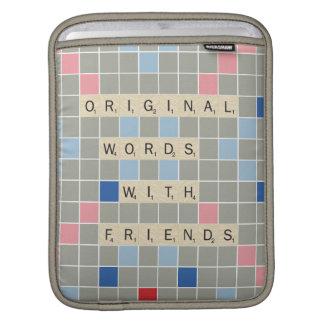 Original Words With Friends iPad Sleeve