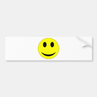 Original Yellow Smiley Face Bumper Stickers