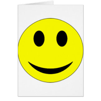 Original Yellow Smiley Face Greeting Cards