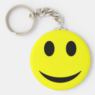 Original Yellow Smiley Face Keychain