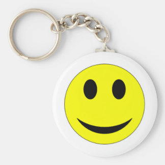 Original Yellow Smiley Face Keychains
