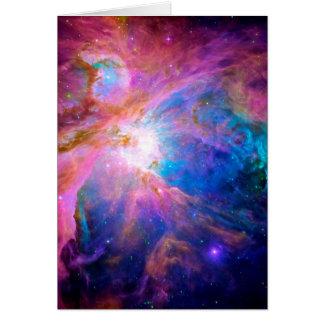 Orion Nebula Card
