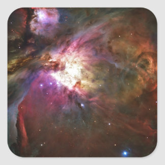 Orion Nebula Square Sticker