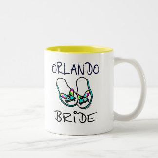 Orlando Bride Two-Tone Coffee Mug