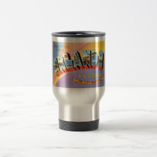 Orlando Florida FL Old Vintage Travel Souvenir Travel Mug