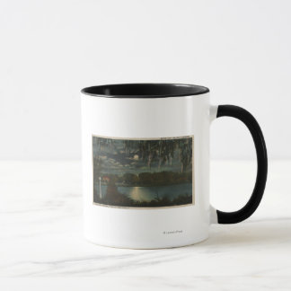 Orlando, Florida - Moonlit View of Lake Cherokee Mug