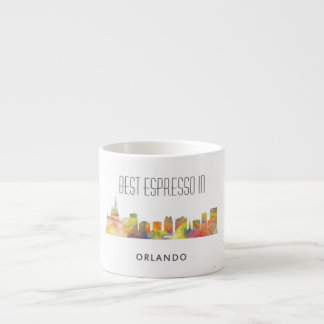 ORLANDO, FLORIDA SKYLINE WB1 - ESPRESSO CUP