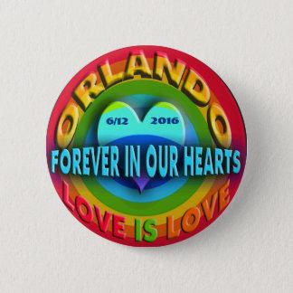 Orlando Memorial 6 Cm Round Badge