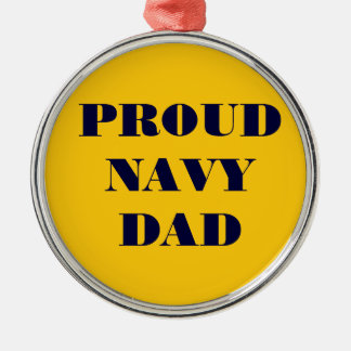 Ornament Proud Navy Dad