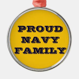 Ornament Proud Navy Family