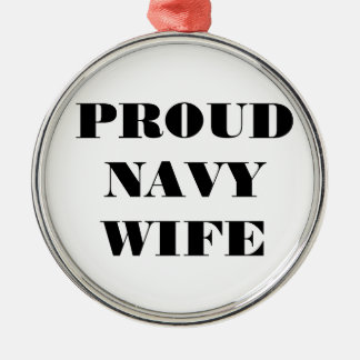 Ornament Proud Navy Wife