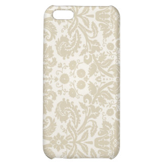Ornate floral pattern case for iPhone 5C
