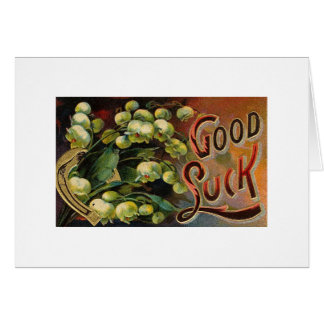 Ornate Good Luck Greeting Card