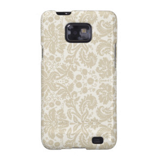 Ornate vintage art nouveau neutral galaxy SII covers