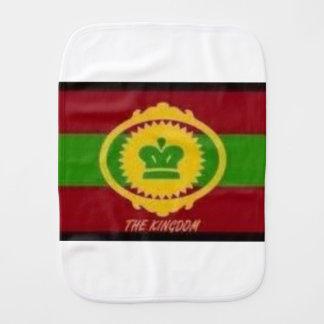 Oromo flags, burp cloth