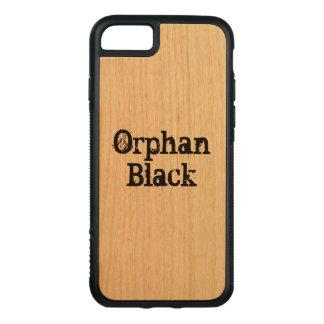 Orphan Black Goth lettering wood case