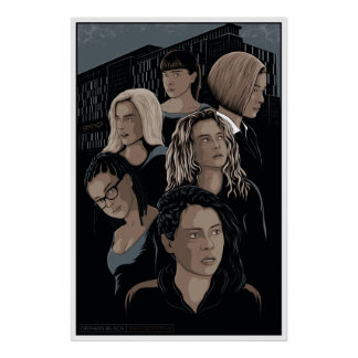Orphan Black Illustrated Poster