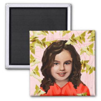 Orphan Black   Kira - Girly Origami  Magnet