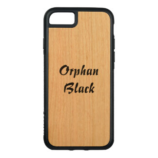 Orphan Black tv show name in Italic style letterin Carved iPhone 8/7 Case