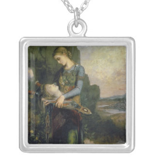 Orpheus, 1865 silver plated necklace