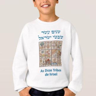Os Brasões das Doze Tribos de Israel Sweatshirt