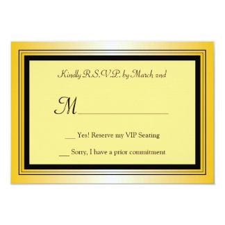Oscar Award Party RSVP Card 9 Cm X 13 Cm Invitation Card