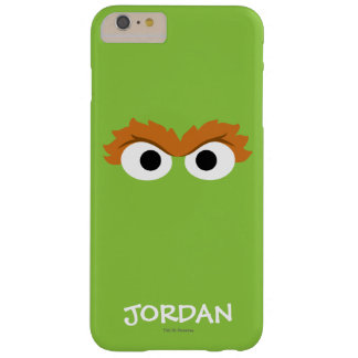 Oscar the Grouch Big Face | Add Your Name Barely There iPhone 6 Plus Case
