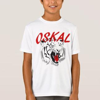 Oskal Russian Prison Tattoo Tiger T-Shirt