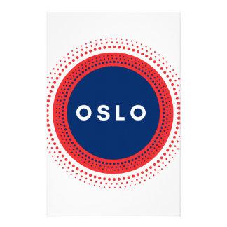 Oslo Norway Stationery