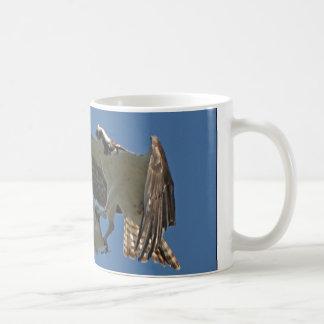 Osprey Bird Wildlife Animal Fish Mug