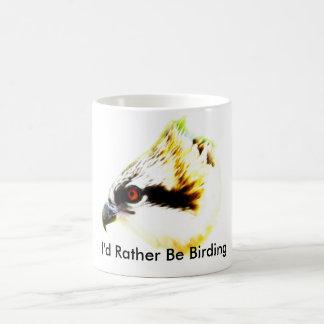 Osprey I'd Rather Be Birding mug