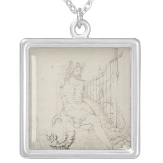 Ossian, 1804-5 silver plated necklace