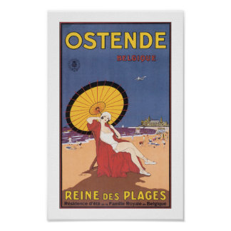 Ostende: Reine des Plages Poster