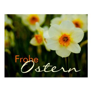Osterglocken • Oster-Postkarte Postcard