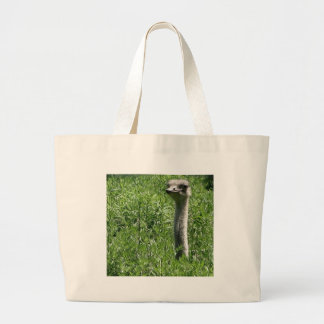 ostrich 1 large tote bag
