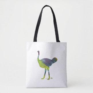 Ostrich art tote bag