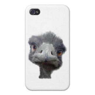 Ostrich head case for iPhone 4