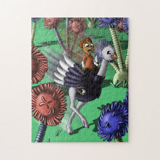 Ostrich Pal Jigsaw Puzzle