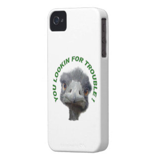 Ostrich trouble iPhone 4 cover