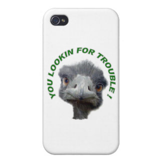 Ostrich trouble iPhone 4 covers