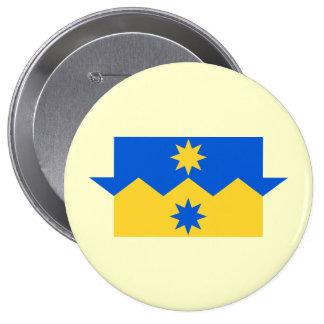 Otago, New Zealand 10 Cm Round Badge