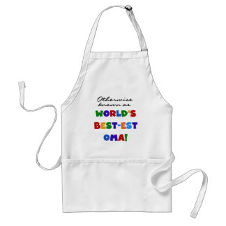 Otherwise Known as Best-est Oma Tshirts and Gifts Standard Apron