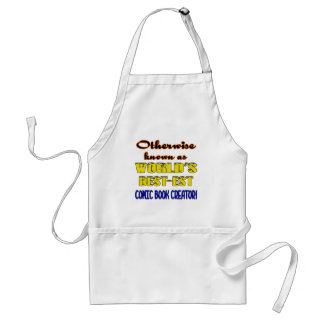 Otherwise known as world's bestest Comic book crea Standard Apron