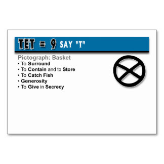 Otiot Flash Cards: 9 of 22 Table Cards