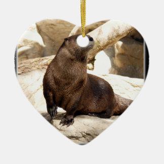 Otter Christmas Ornament