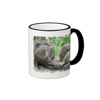 Otter Habitat Coffee Mug