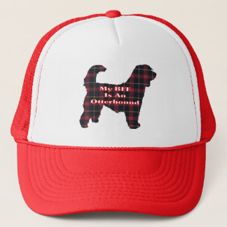 Otterhound BFF Gifts Trucker Hat