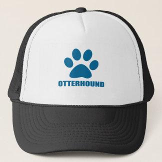 OTTERHOUND DOG DESIGNS TRUCKER HAT