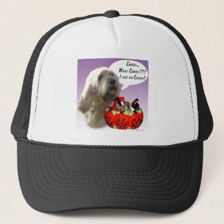 Otterhound Halloween Candy Trucker Hat
