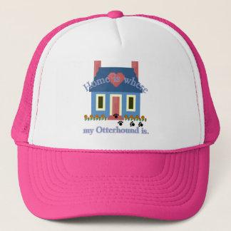 Otterhound Home Is Trucker Hat